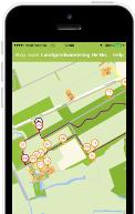 Screenshot Wandelen in Overijssel